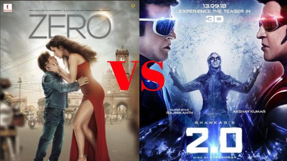 रजिनिकान्त और अक्षय कुमार की फिल्म ROBOT 2.0 की ट्रेलर नहीं तोड़ पायी ZERO का रिकॉर्ड