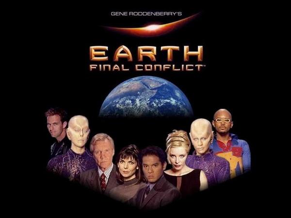 Falando em Série: TERRA: CONFLITO FINAL (1997) - Gene Roddenberry