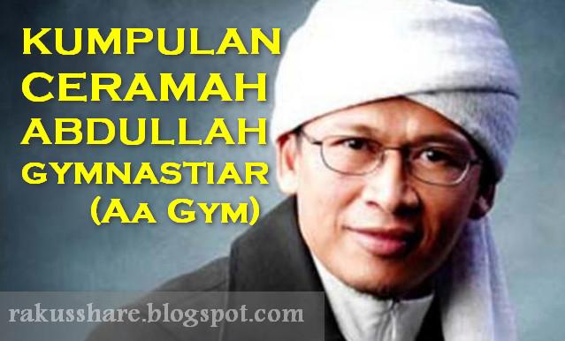 Kumpulan MP3 Ceramah Abdullah Gymnastiar (Aa Gym)