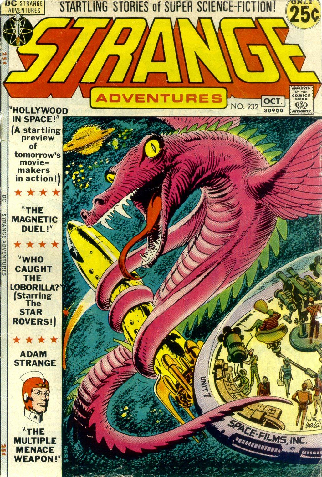 Strange Adventures (1950) issue 232 - Page 1