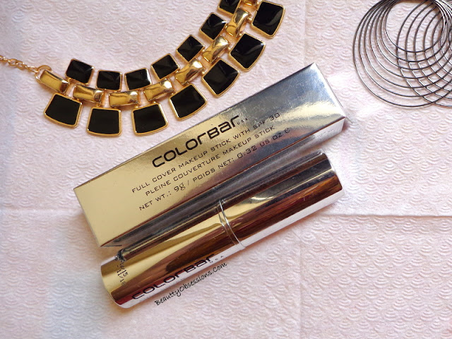 💗Colorbar  Full Cover Makeup Stick With SPF30 💗 - Review and Swatches 👇