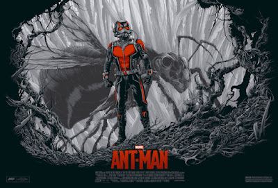 San Diego Comic-Con 2016 Exclusive Ant-Man Movie Variant Marvel Screen Print by Ken Taylor x Mondo