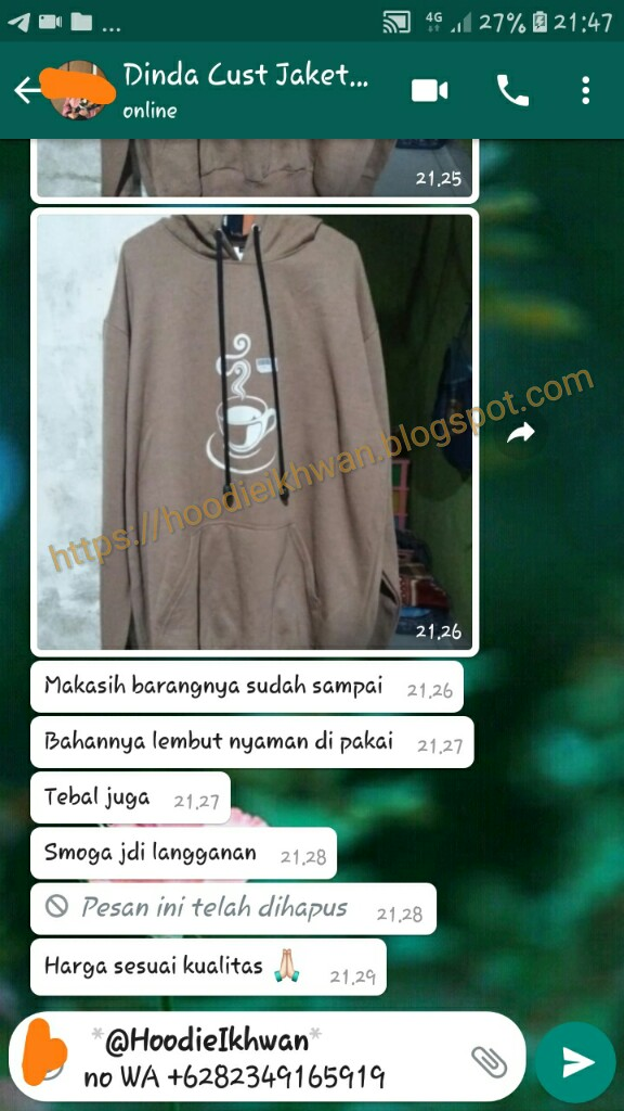Jaket Hoodie Glow In The Dark