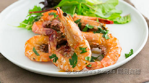 蒜蓉牛油虎蝦 Garlic Butter Tiger Prawns02