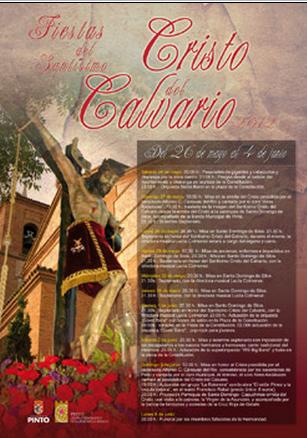 Fiestas de Pinto 2012.Santísimo Cristo del Calvario