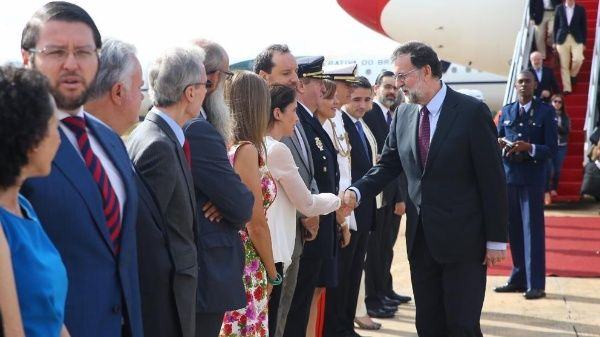 Rajoy confía que su visita a Brasil impulse acuerdo UE-Mercosur