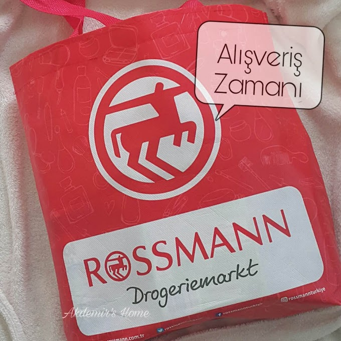 Rossmann Alışverişi