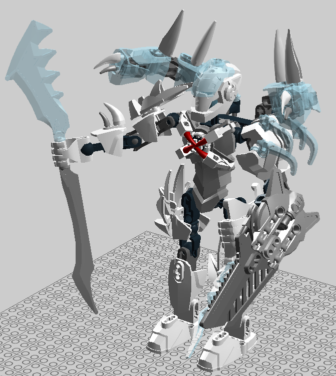 My Underground Base Lego Hero Factory Frost Beast And