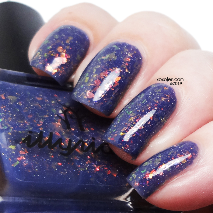 xoxoJen's swatch of Illyrian Polish A Dangerous Type