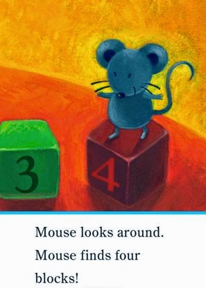 sample page #2 from MOUSE LOVES SCHOOL  (Ready-to-Reads)  by Lauren Thompson