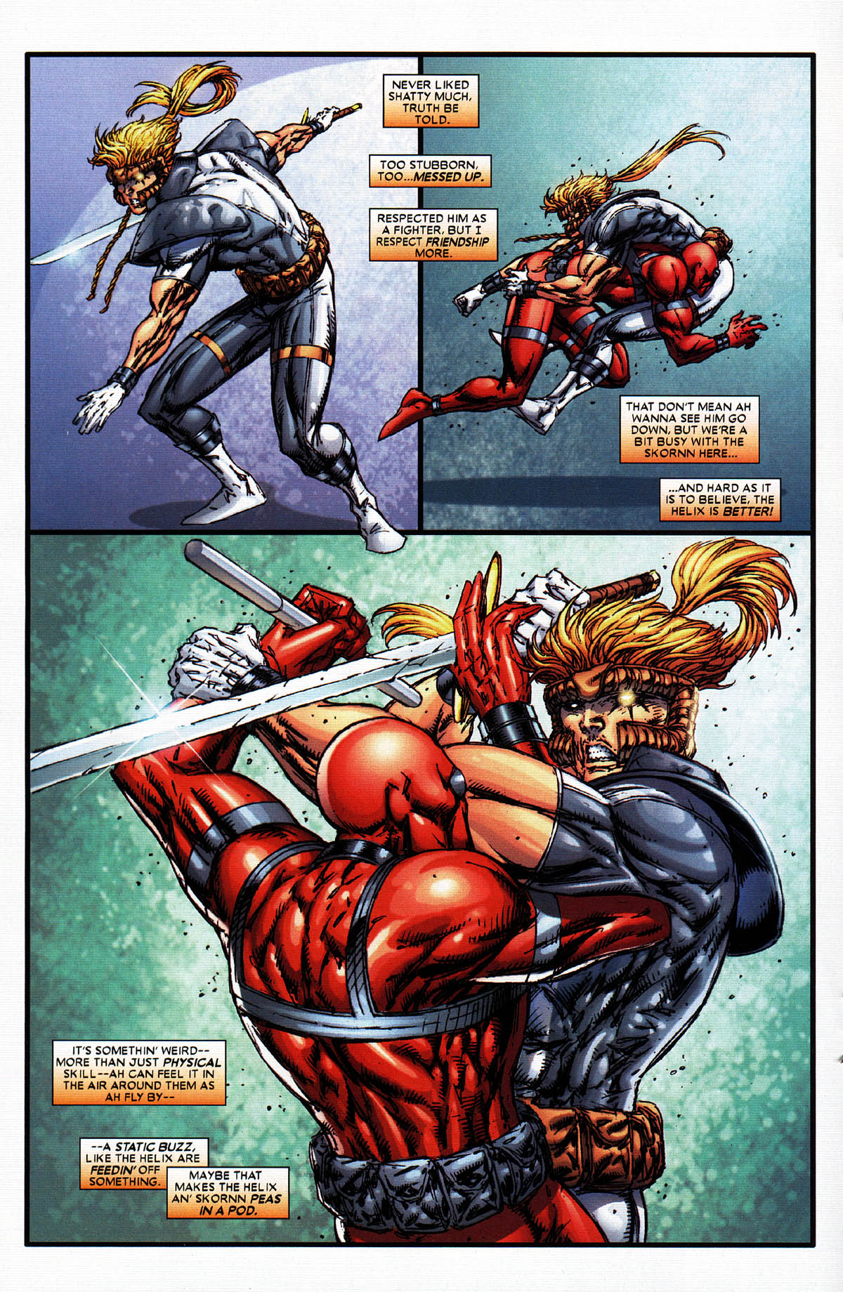Read online X-Force (2004) comic -  Issue #6 - 16