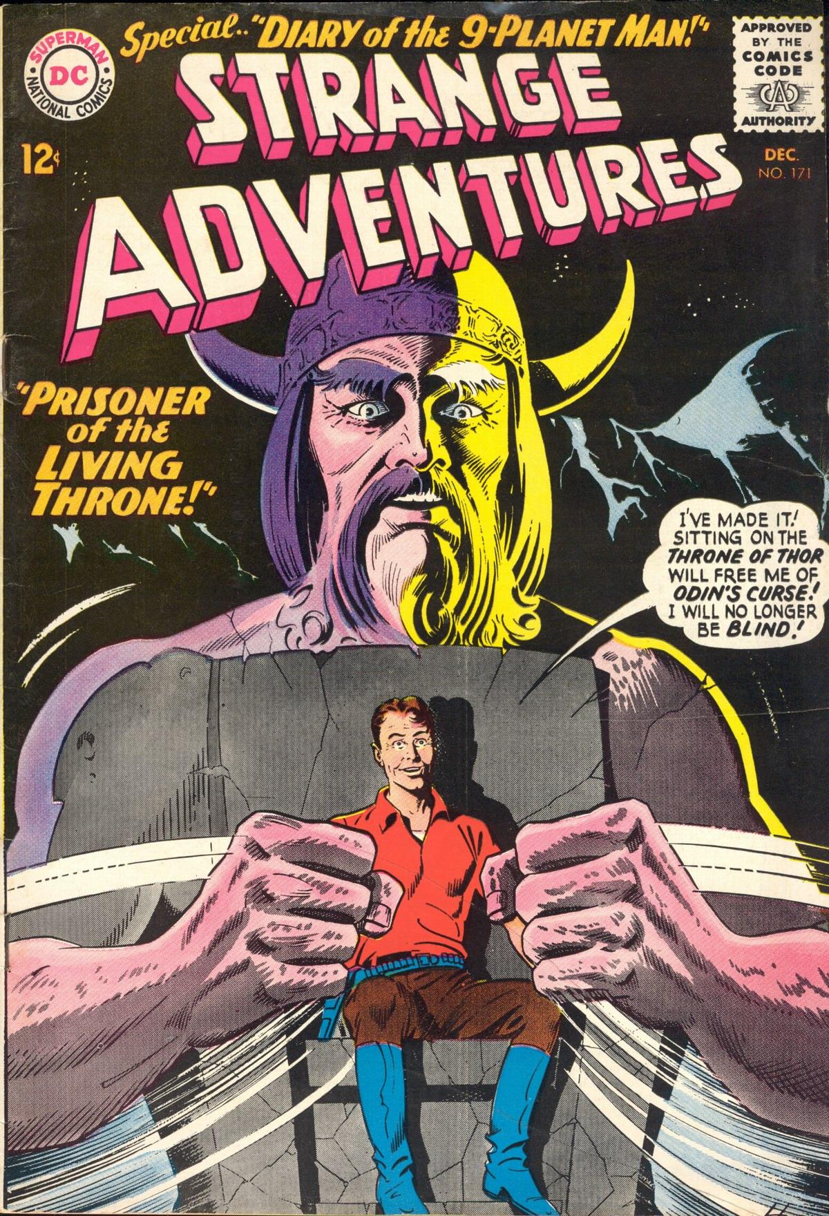 Strange Adventures (1950) issue 171 - Page 1
