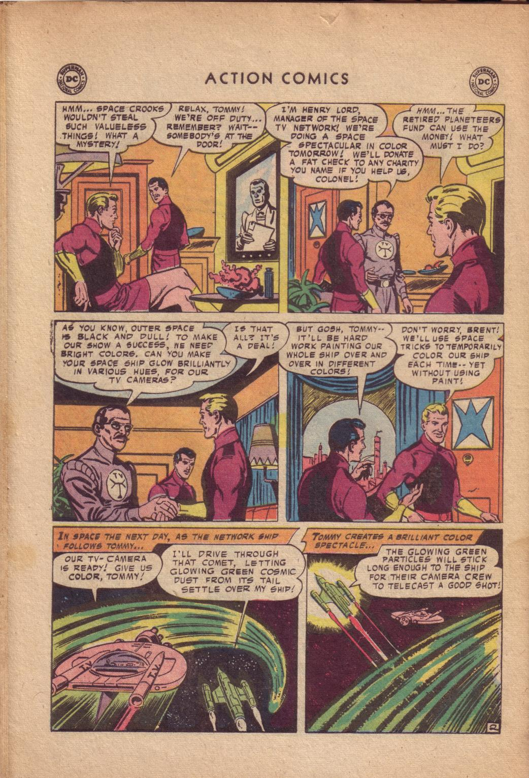 Read online Action Comics (1938) comic -  Issue #232 - 28