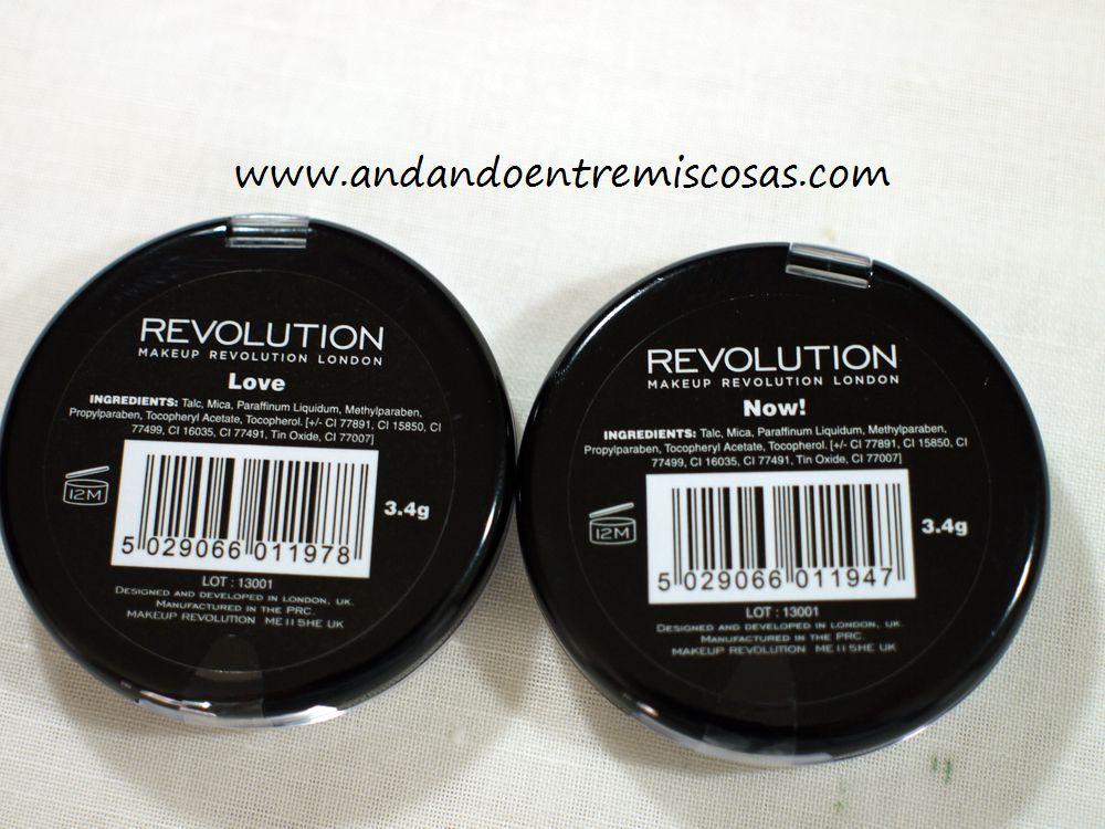 Coloretes Makeup Revolution