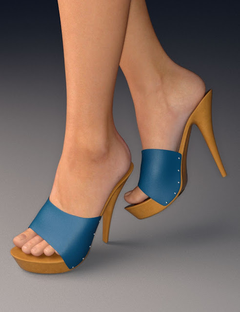 Platform Mules for Genesis 3 Female