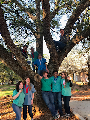 Montgomery Catholic Science Olympiad Team takes Third Place at High School Regional Competition 1