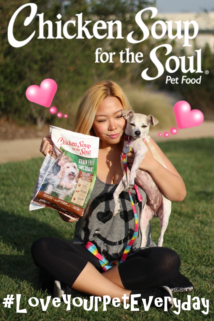 #LoveYourPetEveryday Chicken Soup for the Soul Pet Food
