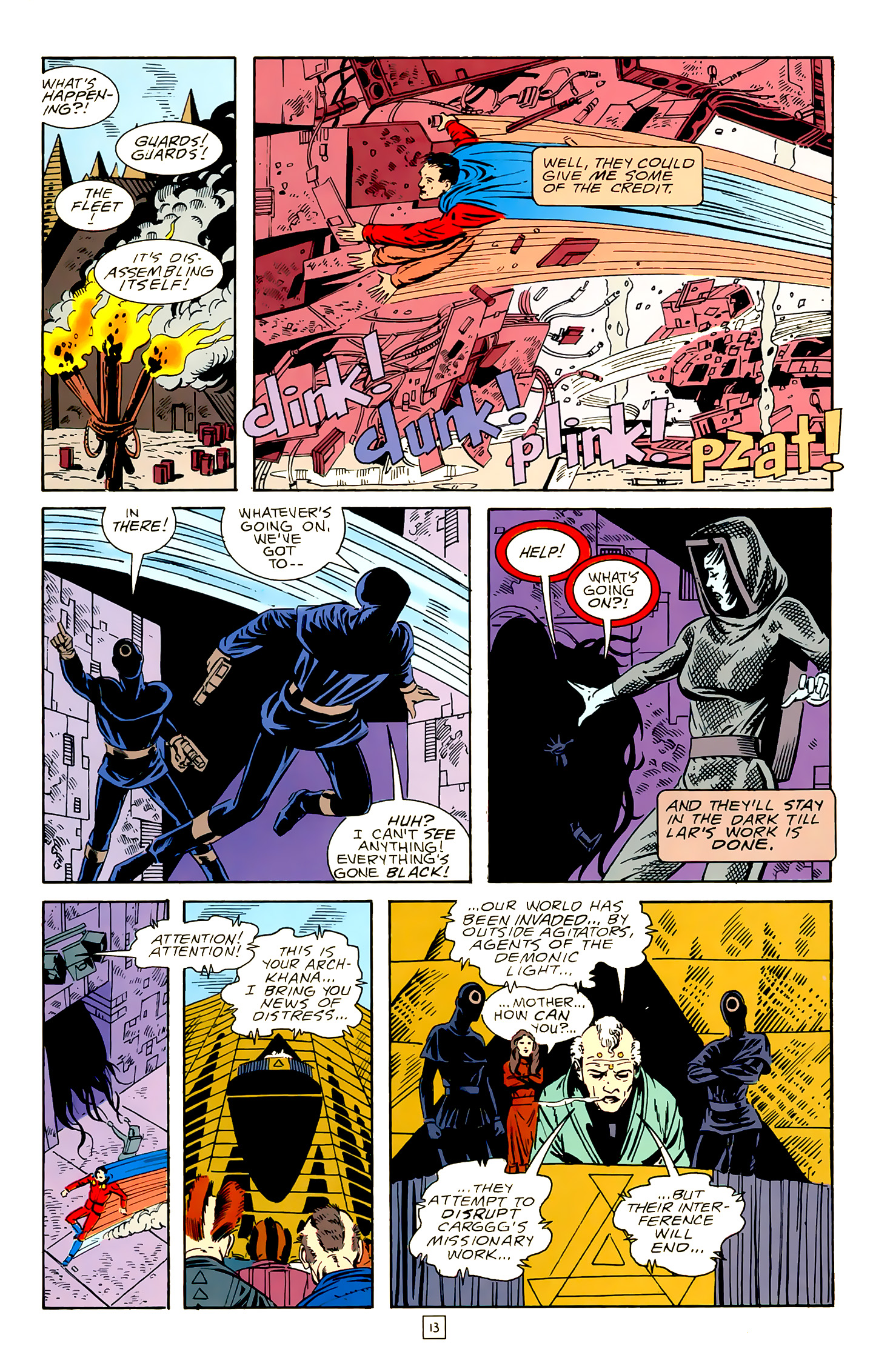 Legion of Super-Heroes (1989) 18 Page 13