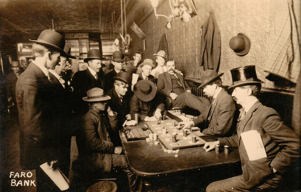 Farobank in the late 1800s ~ vintage everyday