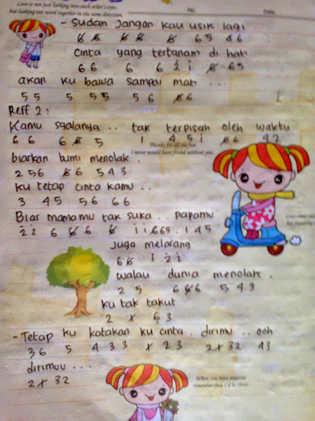 Lirik Lagu Judika Mama Papa Larang : lirik, judika, larang, Chord, Gitar, Larang, Walls