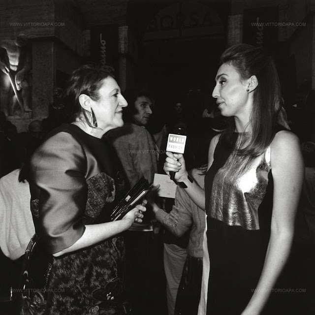 Milan fashion week, Glenda Bailey, Ferragamo show