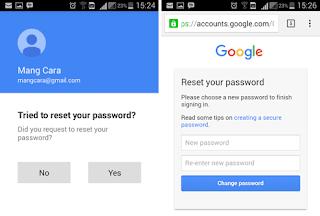 Lupa Password Akun Gmail Di Android, Baiknya Di Reset Saja!