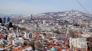 Sarajevo has many houses