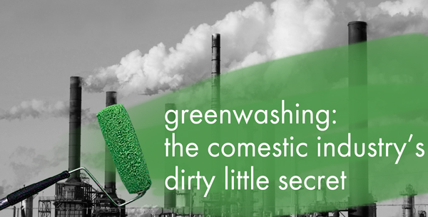 Greenwashing, it occurs in Natural hair product promoting