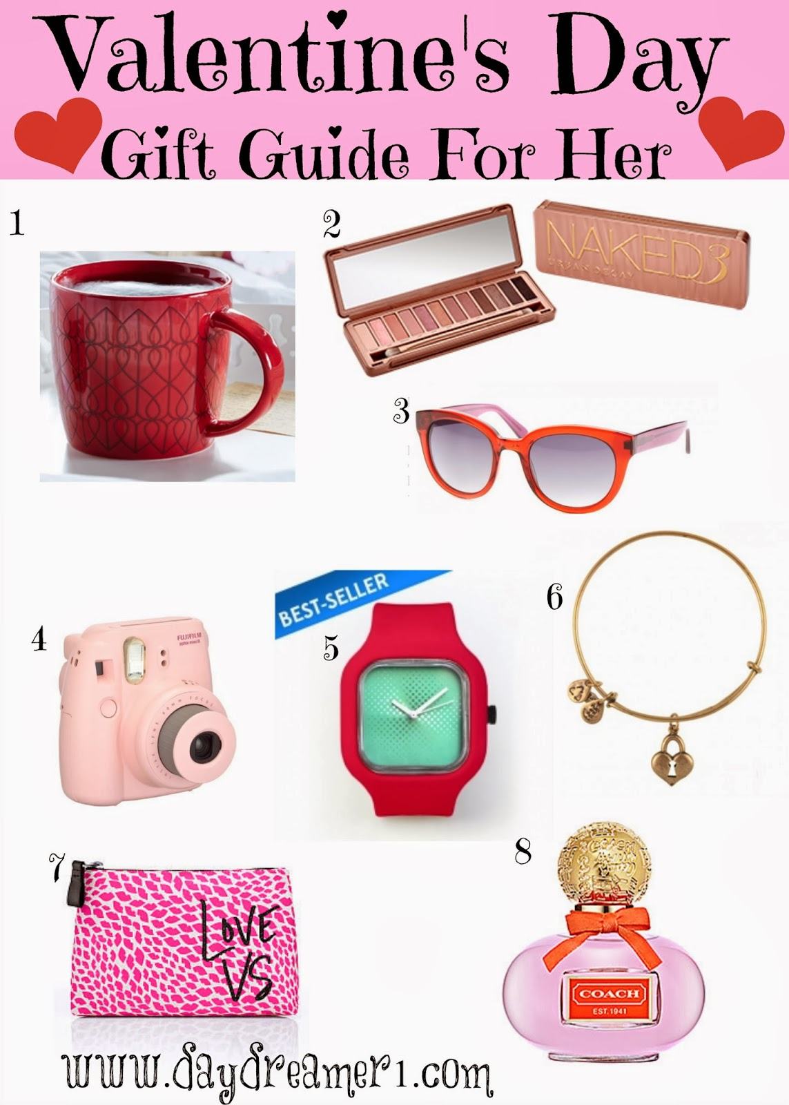 Valentine's Day Gift Ideas For Her - Day Dreamer