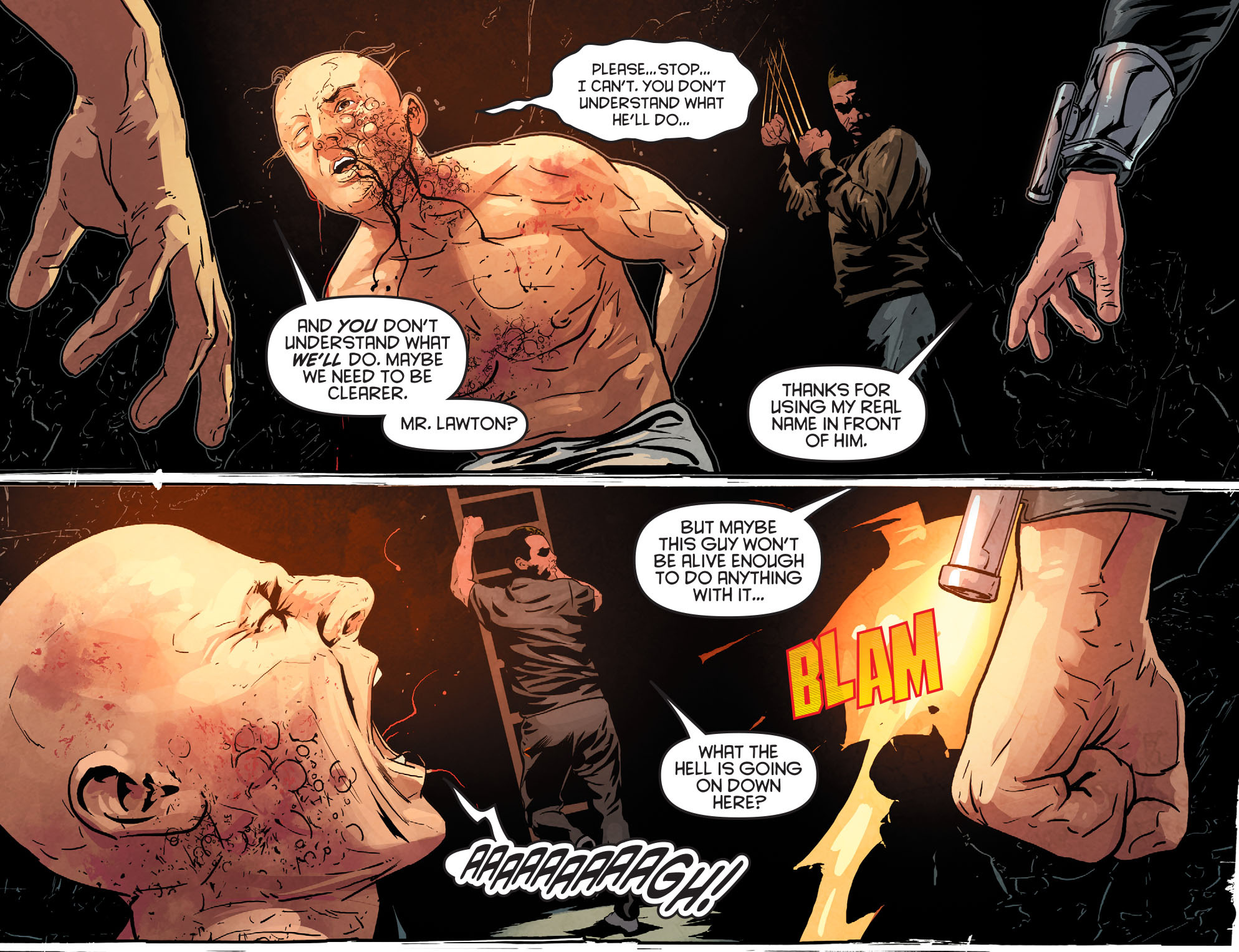 Read online Arrow: Season 2.5 [I] comic -  Issue #12 - 5
