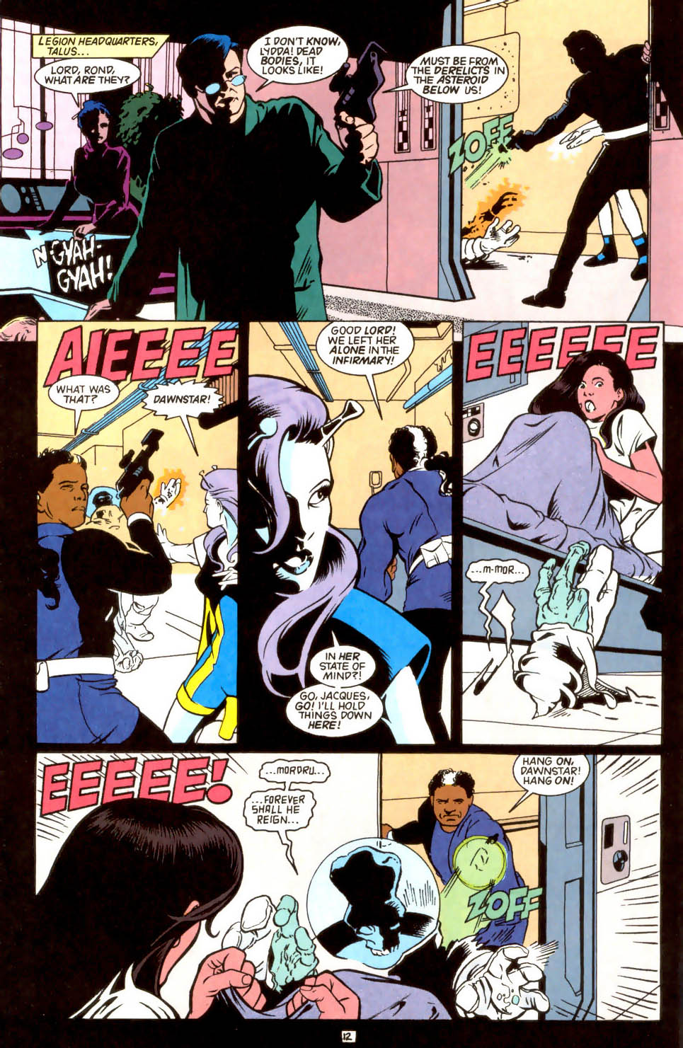 Legion of Super-Heroes (1989) 45 Page 11