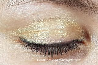 Swisscare - Matita nera occhi, Matitone ombretto oro, Mascara nero - swatches