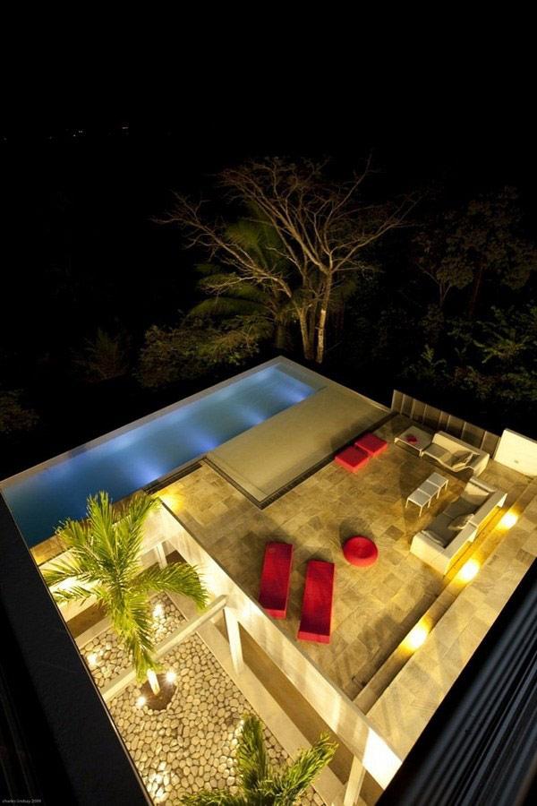 Hogares frescos 30 ideas de piscinas para tener su hogar - Piscinas en terrazas de casas ...
