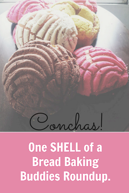 One SHELL of a Bread Baking Buddies ROundup: Conchas
