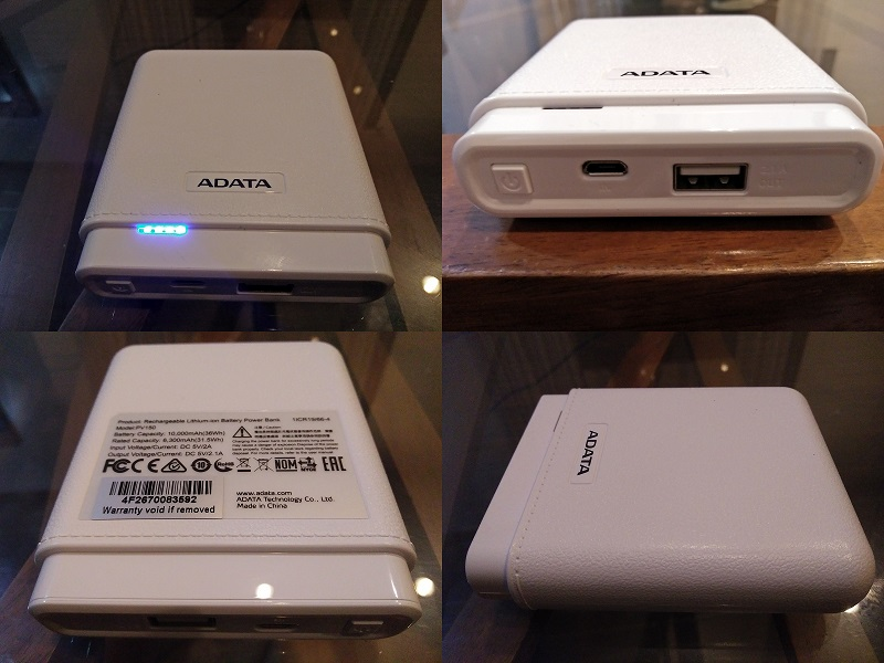 ADATA PV150 Power Bank Hardware