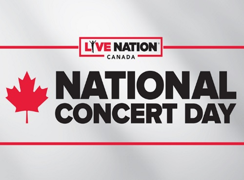 Live Nation National Concert Day $20 Tickets