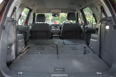 Interior Bagasi All New Ford Everest