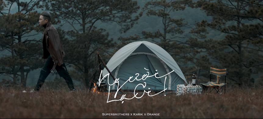 Ảnh bìa (cover) Facebook lời bài hát Người Lạ Ơi