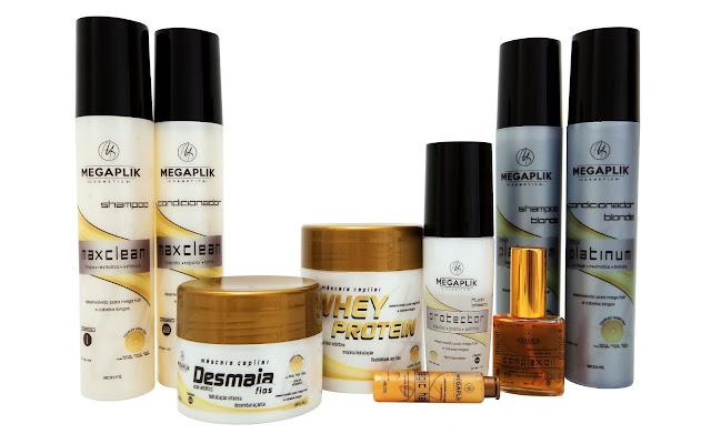 Produtos para manutenção diária mega hair