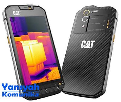 CAT S60, Smartphone RAM 3GB dengan Kamera Pendeteksi Panas
