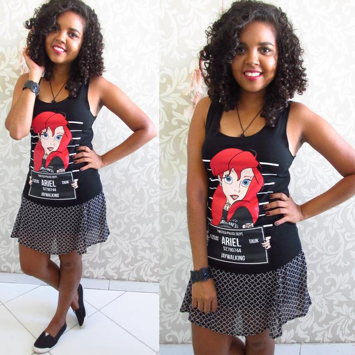 Stille Shop, Looks para Faculdade, t-shirt ariel alternativa, ariel alternativa, ariel presa