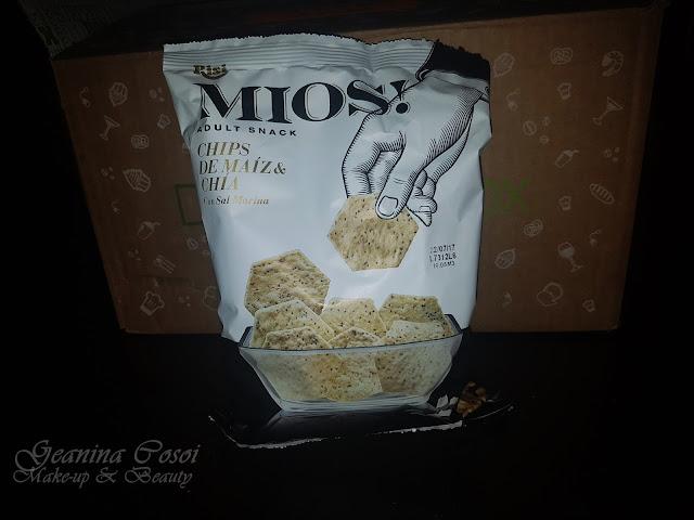 Chips de maiz con chia y sal marina Mios Degustabox Junio´17 ¡VERANO!