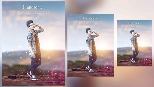 Handsome Boy Picsart Photo Editing Tutorial