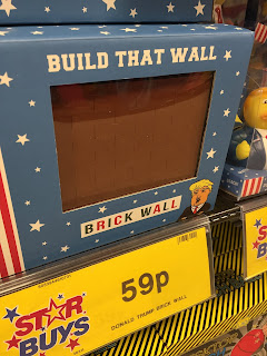 Build That Wall Chocolate donald trump home bargains