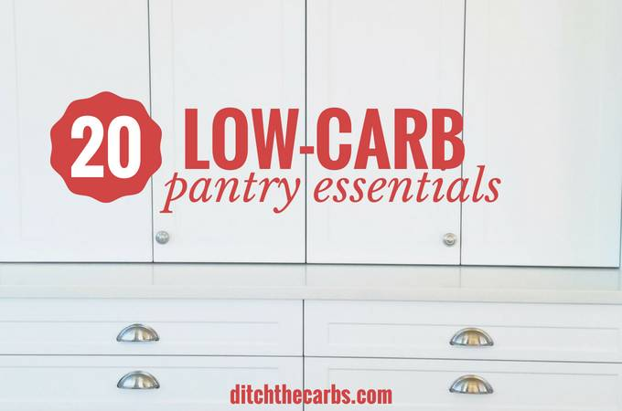 Low-Carb Pantry Essentials  Low-carb_pantry_essentials_