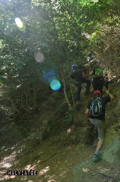 de ruta pel castell de montesquiu