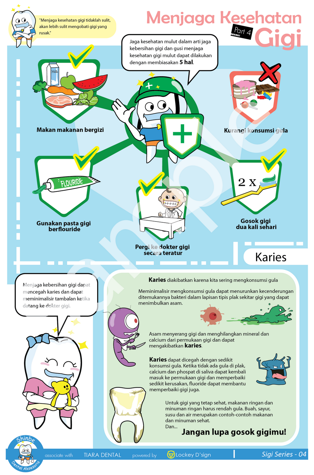 Dental Aksesoris: Poster