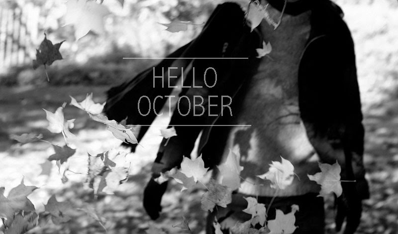 Hello October - Oyster & Pearl :: UK lifestyle / family blog