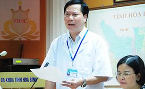 Vụ 9 người chạy thận tử vong: Khởi tố nguyên Giám đốc Bệnh viện