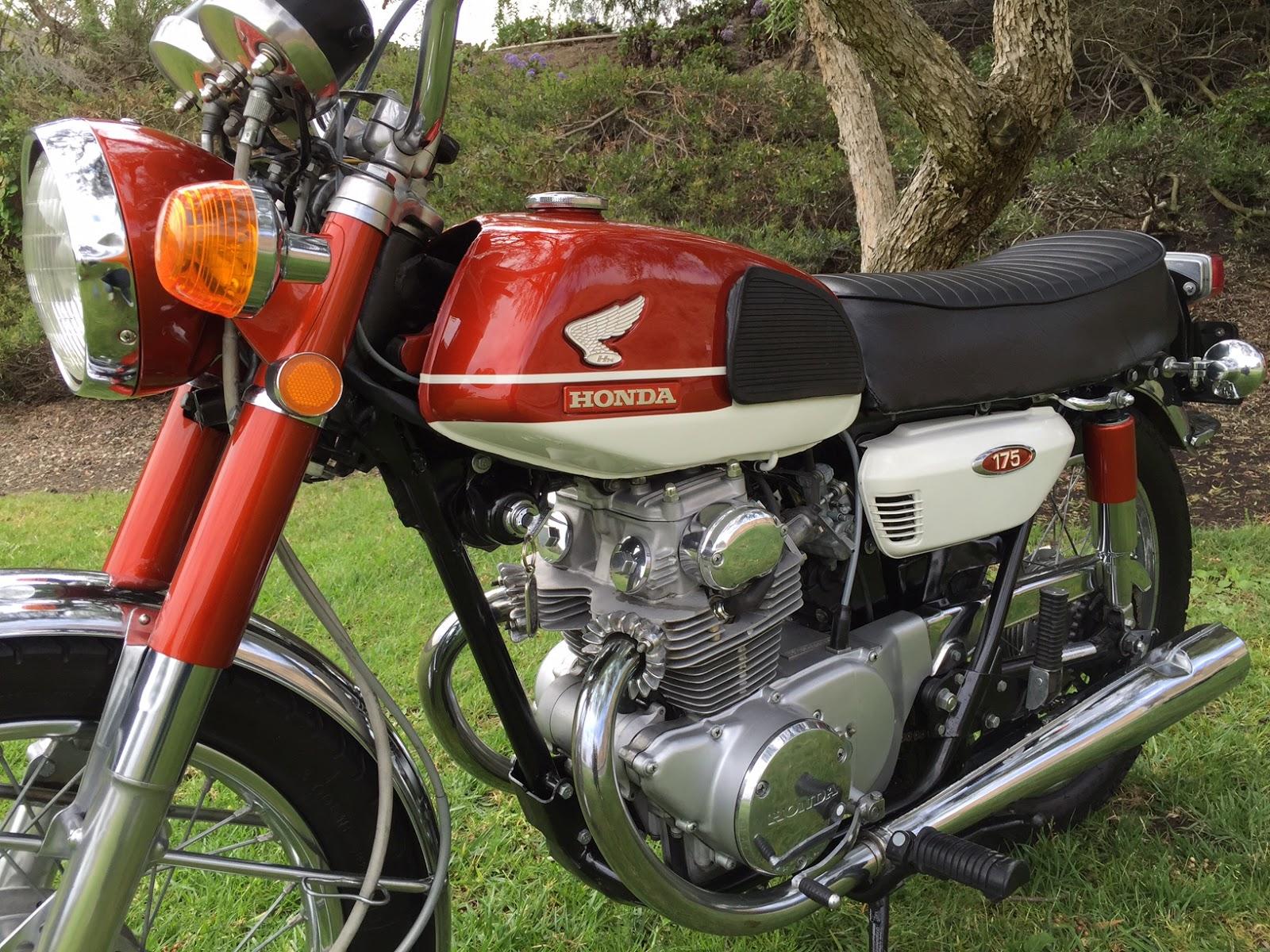 Honda CB175 K3 Klasik Original Look